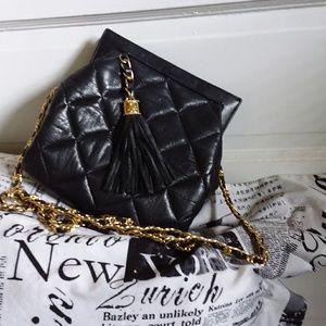 Vintage  Jay Herbert  Quilted  Bag